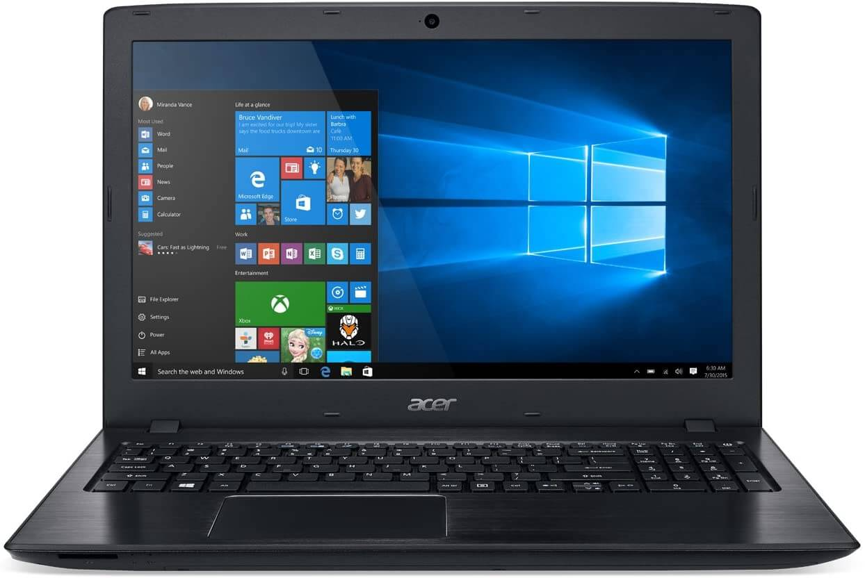Acer Aspire E15 - best quickbooks laptop for accountants