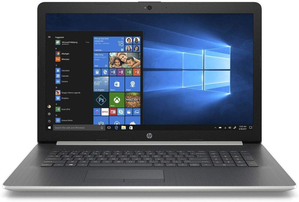 HP 17 - best laptop for watching movies